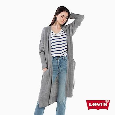Levis 女裝 針織外套 OFF-DUTY系列 長版