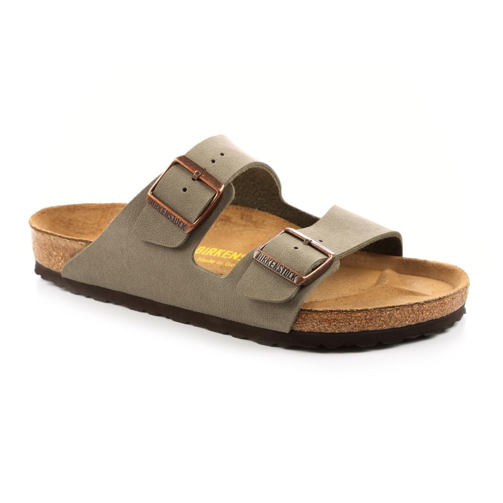 勃肯BIRKENSTOCK 151211。亞利桑那 經典二條拖鞋(石頭灰)