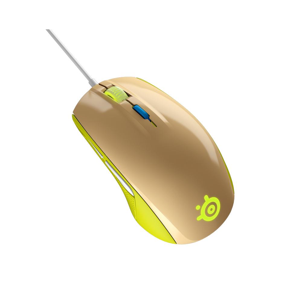 SteelSeries 賽睿 Rival 100 滑鼠 綠色