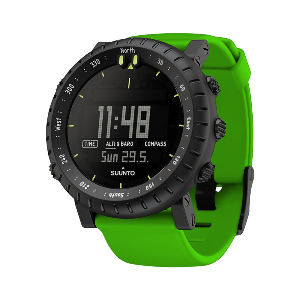 SUUNTO CORE GREEN CRUSH 電腦腕錶 箭竹綠