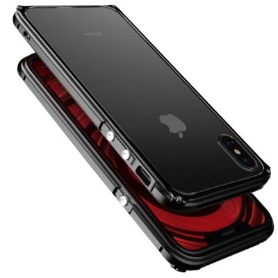 The tree  iPhone X 傳奇系列 金屬邊框+透明後背蓋保護殼