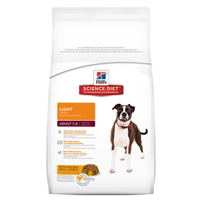 希爾思 成犬體重控制配方 原顆粒 犬飼料 15公斤