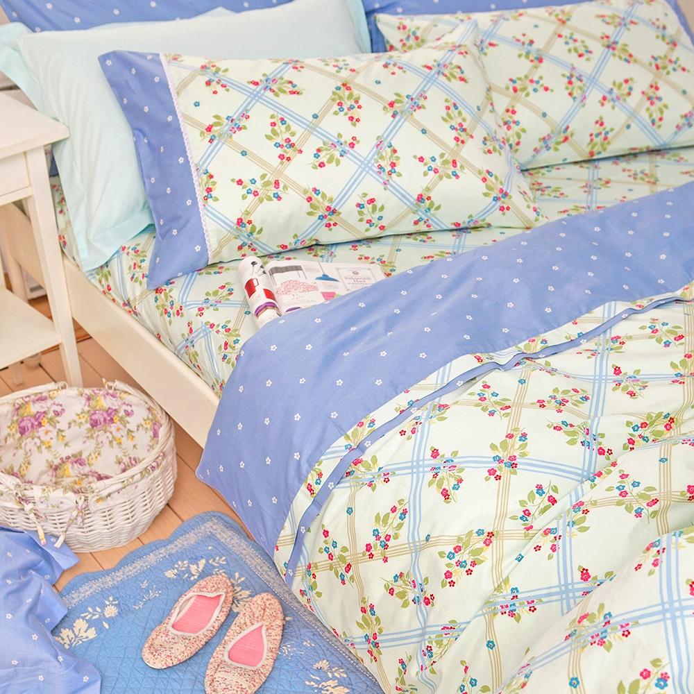 OLIVIA   英式鄉村田園  標準雙人床包枕套組