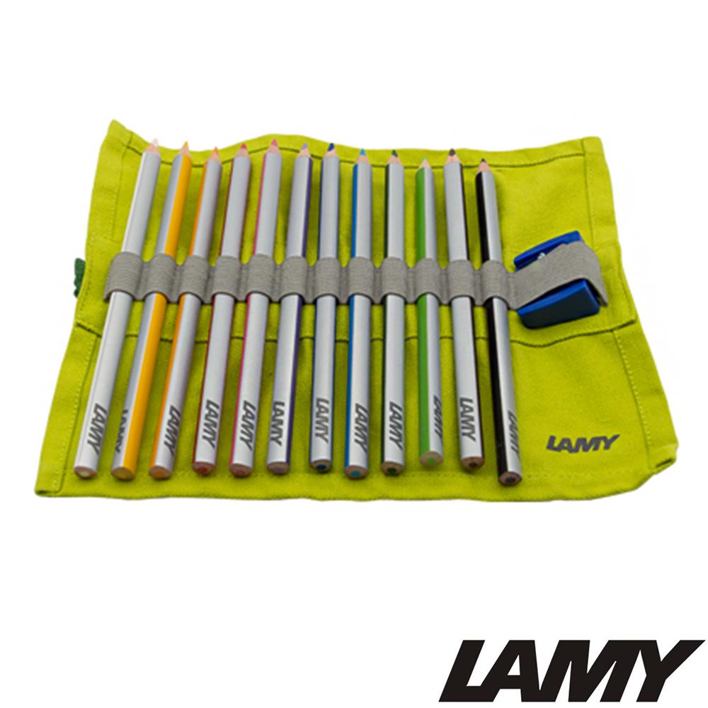 LAMY Plus系列 軟布包裝彩色鉛筆12色