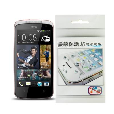 HTC Desire 500 疏水疏油保護貼