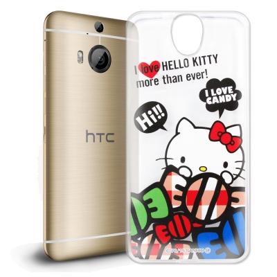 Hello Kitty HTC E9 plus E9+ 透明軟式殼 糖果款
