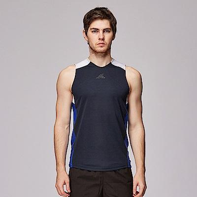 【ZEPRO】男子Kim吸濕排汗運動背心-深藍