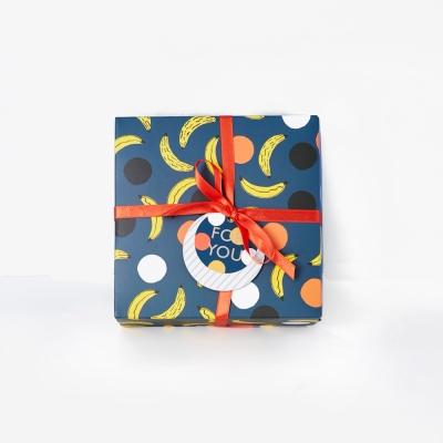 7321 Design 彩繪塗鴉方塊禮物盒組M(1入)-BBH