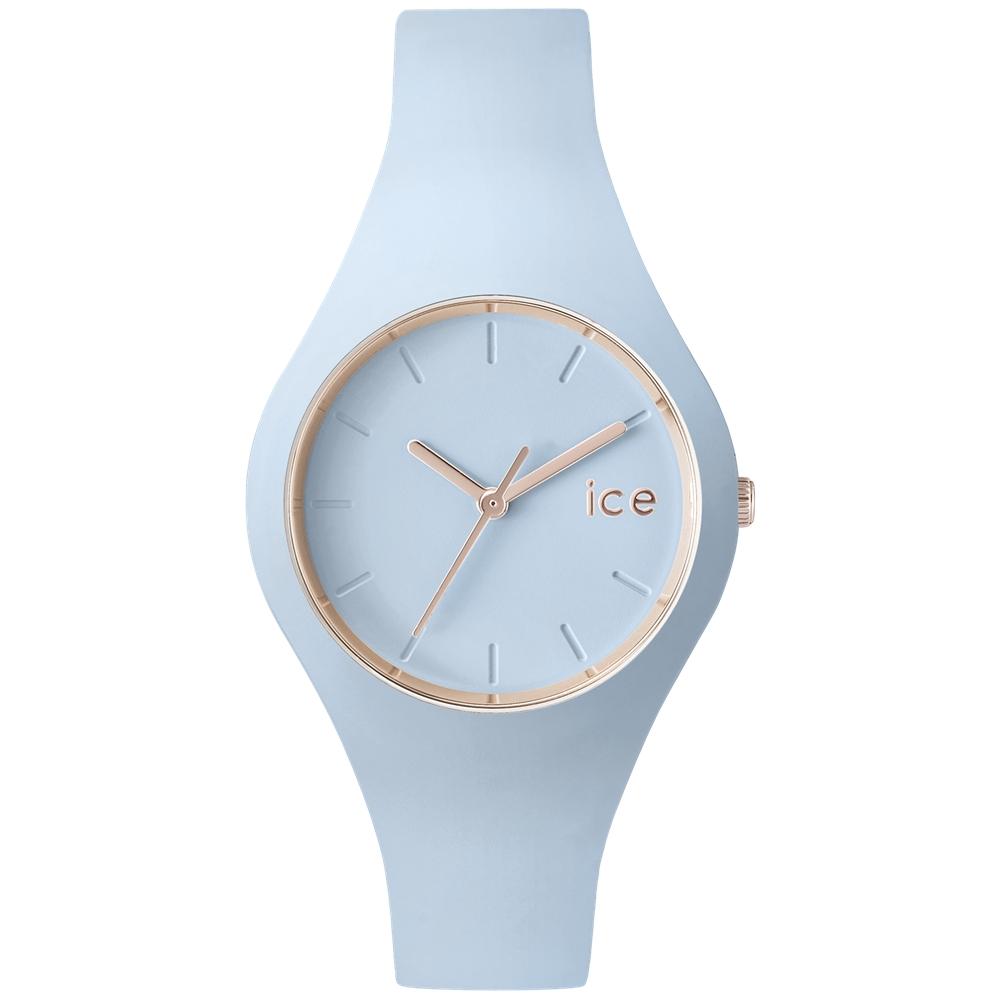 Ice-Watch 粉彩系列 甜美糖果腕錶-粉藍/38mm