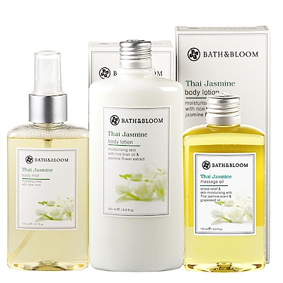 Bath & Bloom 茉莉經典暢銷三入組