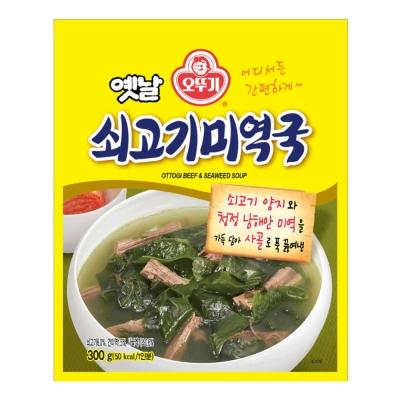 OTTOGI不倒翁 牛肉海帶湯(300g)