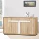 凱曼 布萊德5.3尺橡木紋餐櫃收納櫃 product thumbnail 1