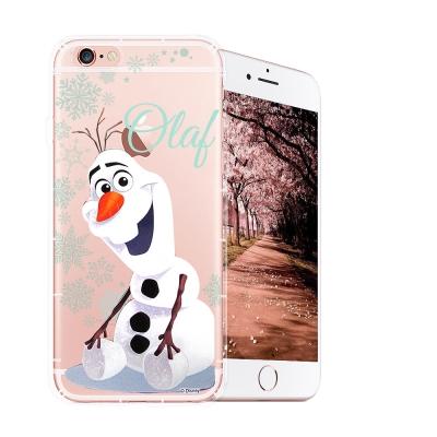 冰雪奇緣展場限定版 iPhone 6s Plus 空壓殼(雪花雪寶)