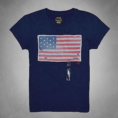 Ralph Lauren 短袖 T恤 素面 藍 0585