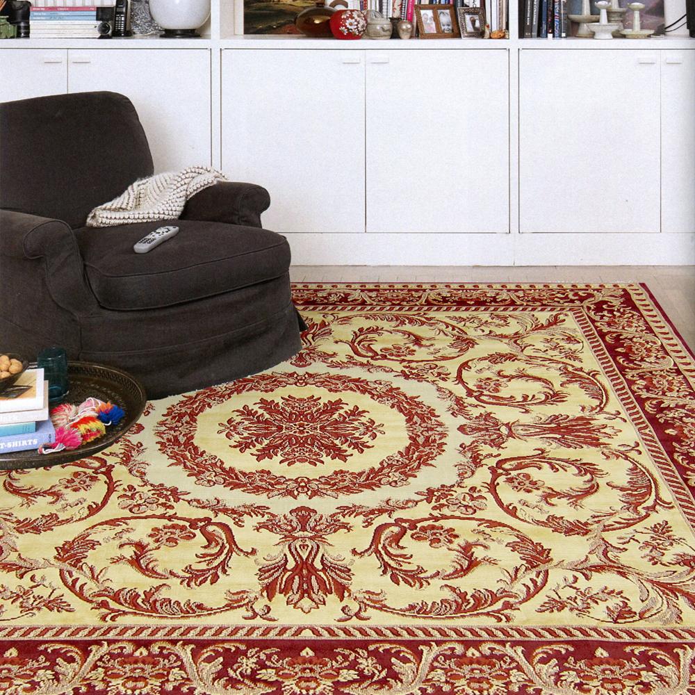 范登伯格 - 翡冷翠 進口地毯 - 舞雀 (190 x 190cm)