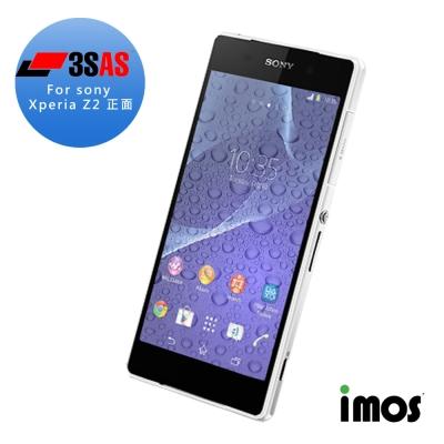 iMos-Sony Xperia Z2 正面-超疏水疏油保護貼