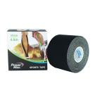 PowerMax 運動肌效能貼布/給力貼 50mm(單捲)-酷黑