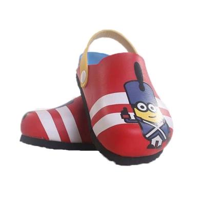 小小兵 台灣製-涼拖鞋-紅 sh7964