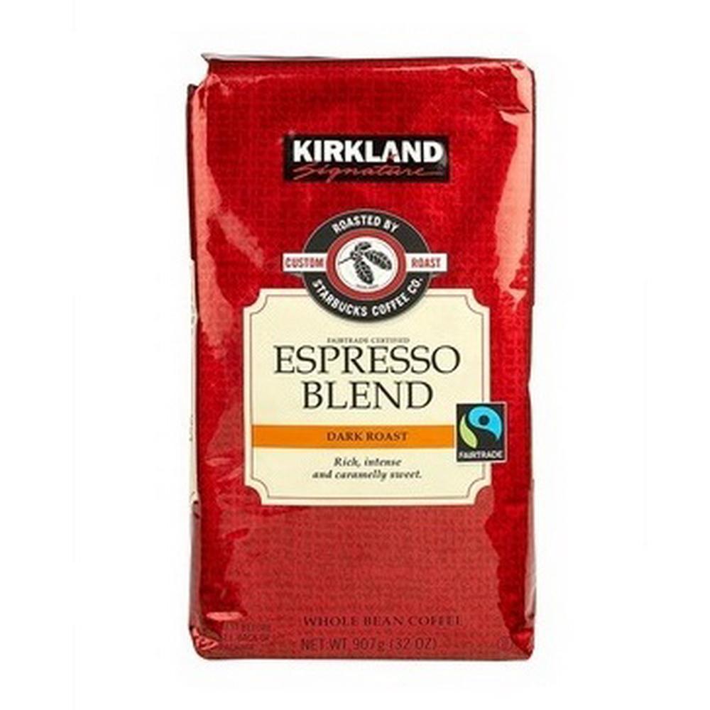 Kirkland Signature 科克蘭義式深度焙咖啡豆(907g)