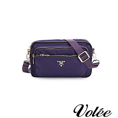 Volee飛行包-伴旅系列多功能多拉隨行鍊肩背包-法國紫