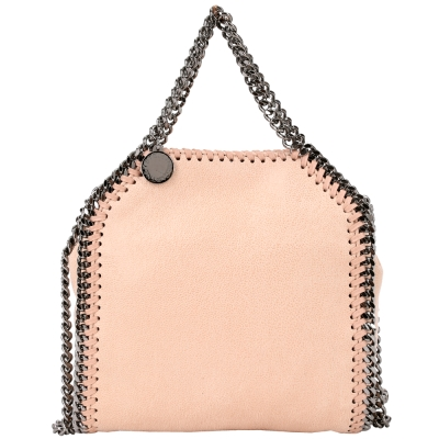 Stella McCartney Falabella 兩用鏈帶包(TINY/粉裸色)