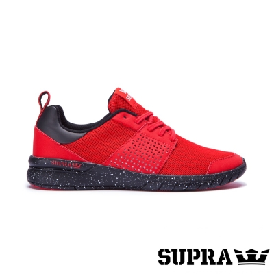 SUPRA Scissor系列男鞋-紅/黑