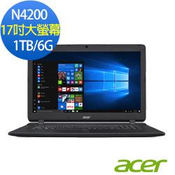 acer ES1-732-P15K 17吋筆電(N4200