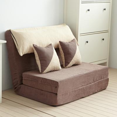 Bed Maker 千層酥 全獨立筒彈簧沙發床椅/台灣製/可拆洗 多色