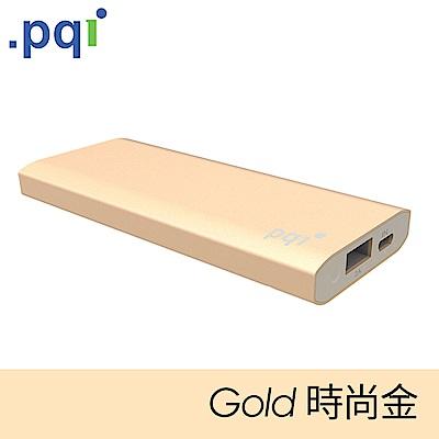 PQI Power 6000CV 超輕薄行動電源 時尚金