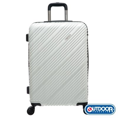 OUTDOOR-Skyline系列 24吋行李箱-髮絲白 OD9089B24WT