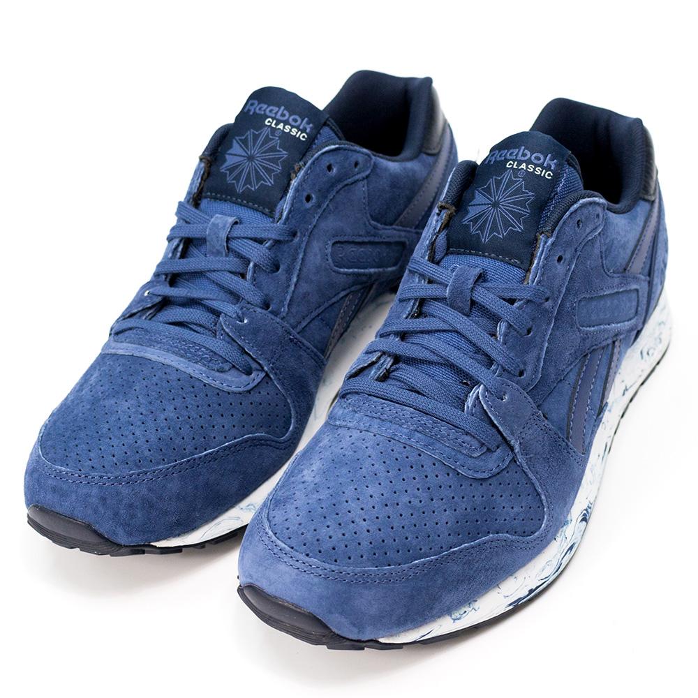 REEBOK-GL 6000 MM男休閒鞋-藍