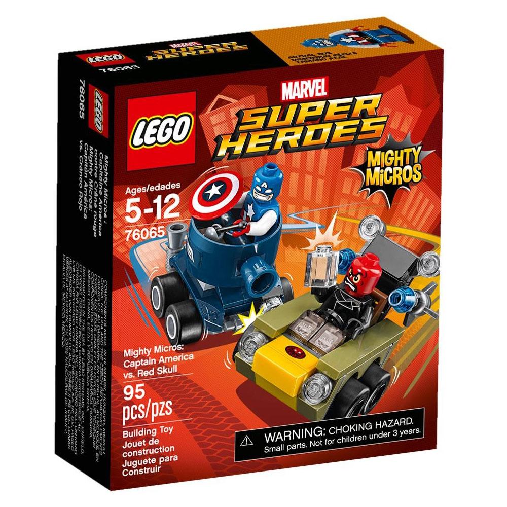 LEGO樂高 超級英雄 迷你車系列 76065 美國隊長vs.紅骷髏
