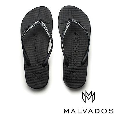 【Malvados 魅凡朵】基本款人字拖 playa 普拉雅《黑瑪瑙》