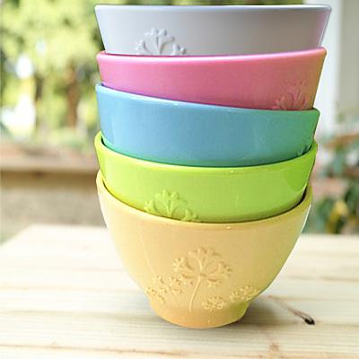 【Cornflower玉米花】浪漫花草玉米餐具-玉米花碗5入