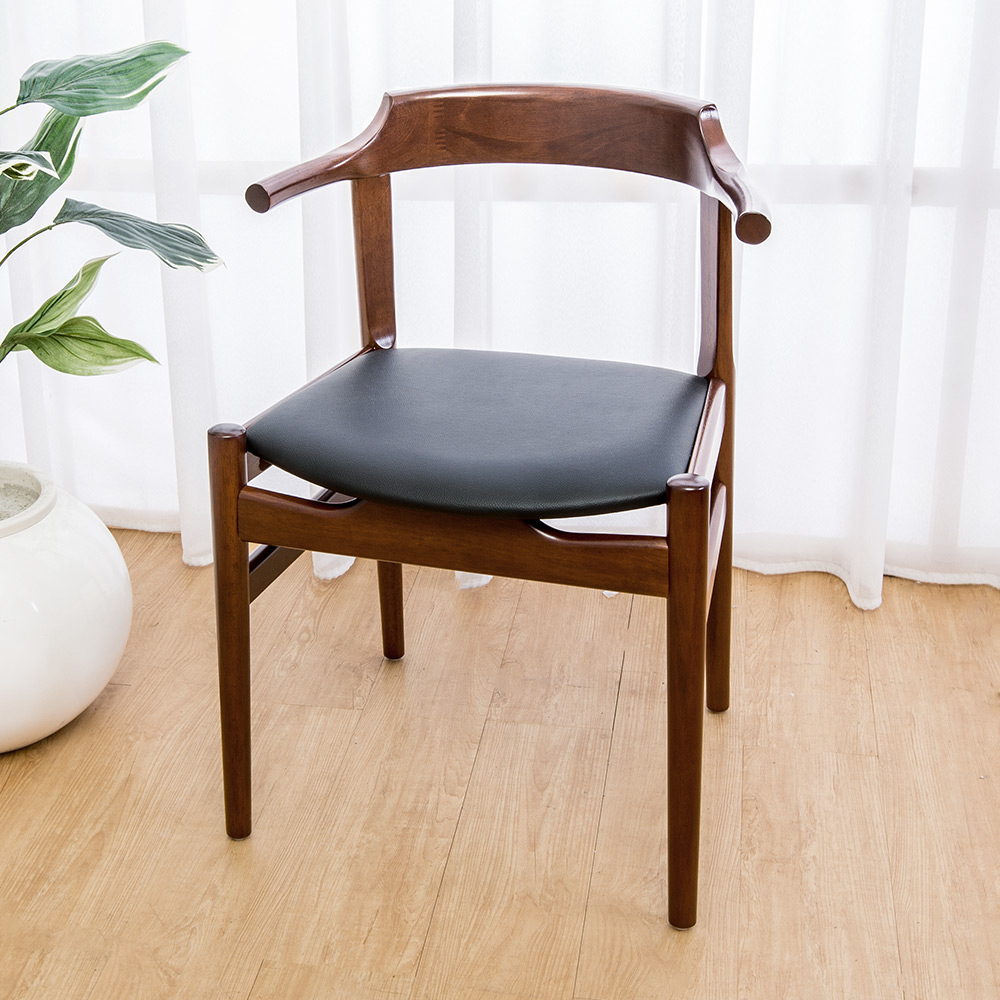 Boden-霍納實木餐椅/單椅-55x48x75cm