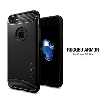 Spigen iPhone 7 Rugged Armor 美國軍規認證防震保護殼