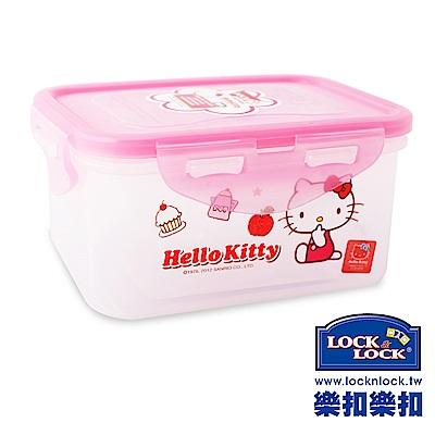 樂扣樂扣 HELLO KITTY PP保鮮盒470ML-方形(8H)