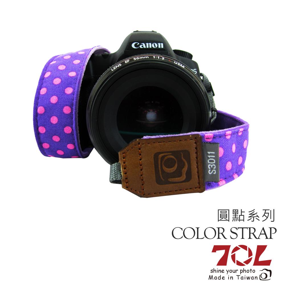 70L COLOR  STRAP 彩色相機背帶 可愛原點系列