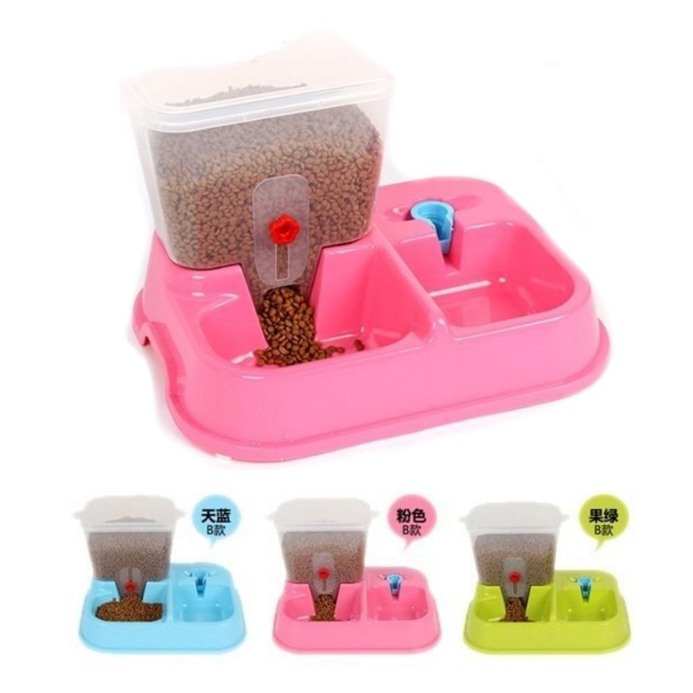 寵喵樂 飲水器+餵食器-兩用飼料桶