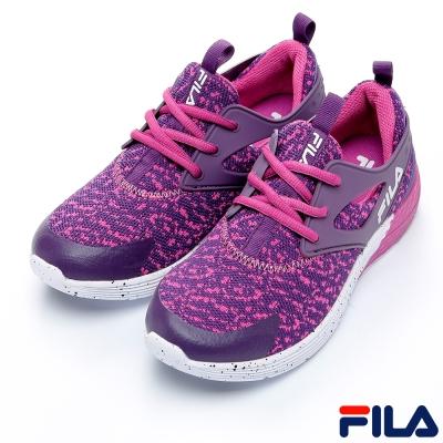 FILA女慢跑鞋-紫-防臭鞋墊-5-J903Q-991