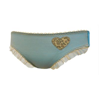 瑪登瑪朵-魔俏V-II-低腰三角網褲-純淨藍