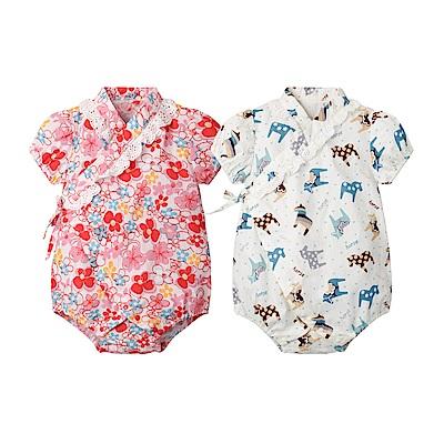 baby童衣 寶寶和服造型三角包屁衣 80070