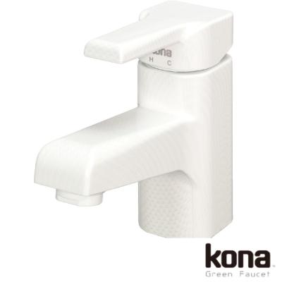 kona 經典無鉛單孔龍頭-白(ECO-SLZ-10-PWW01)