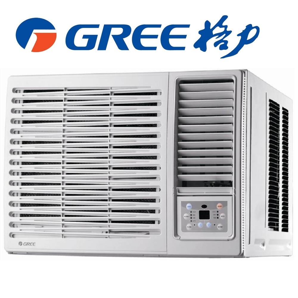 GREE 格力 3-5坪 R410 定頻右吹式 窗型冷氣 GWF-22C