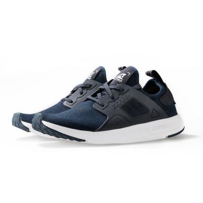 【ZEPRO】男子X3次方系列飛織襪套式休閒鞋-蒼海藍
