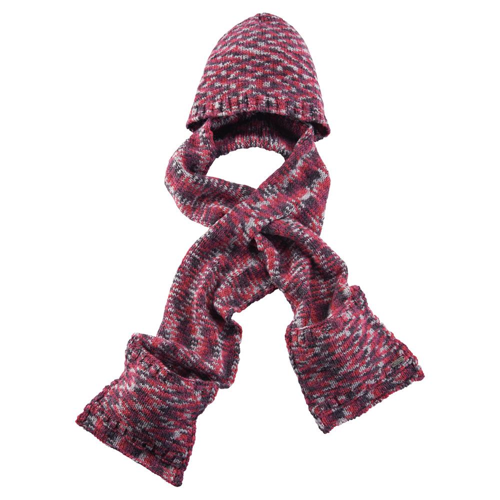 【ATUNAS 歐都納】保暖帽含圍巾 A-A1545 桃紫