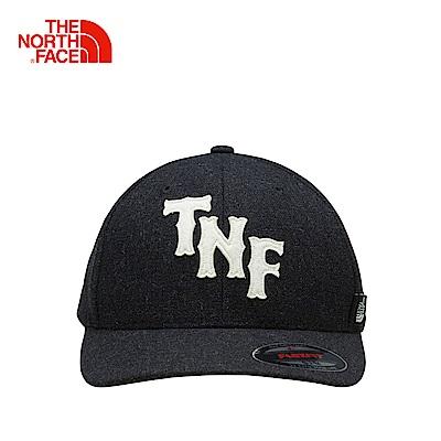 The North Face北面黑色舒適透氣戶外運動帽