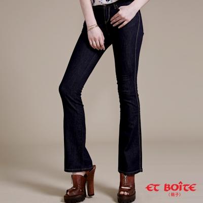 ETBOITE 箱子 BLUE WAY 經典彈性靴型褲