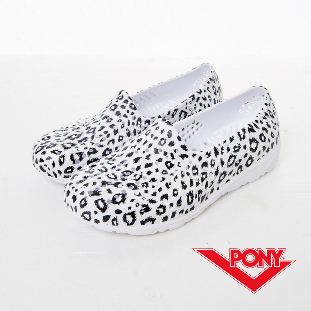 PONY--Tropic D系列-夏日輕量走路GOGO鞋-豹紋-中性
