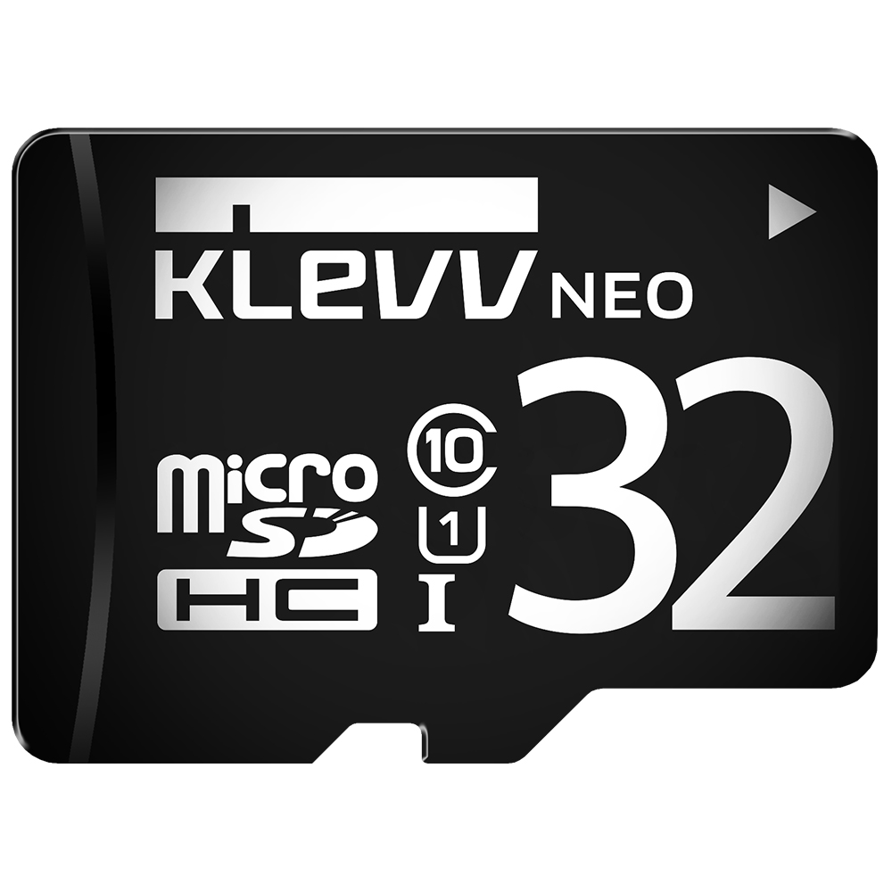 KLEVV 科賦 Micro SDHC UHS-1 32GB 記憶卡(附轉卡)